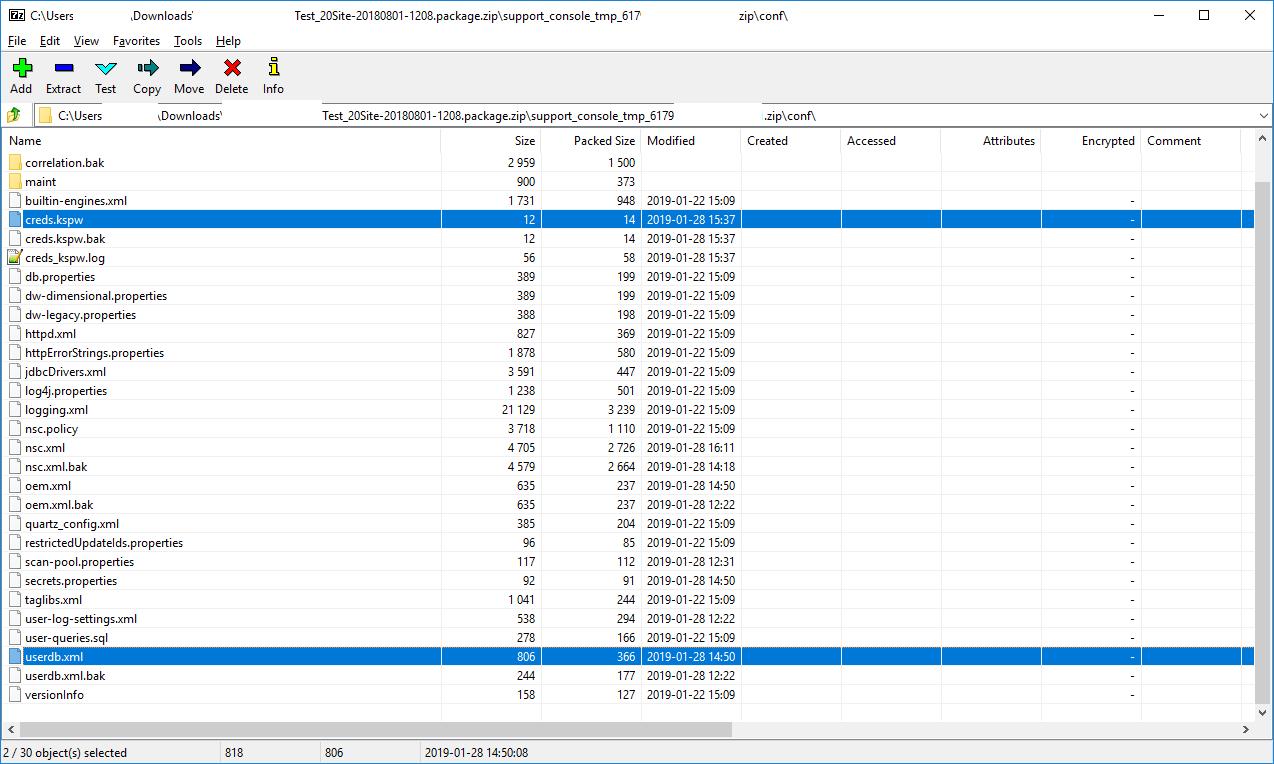 CVE-2019-5615 Rapid7 insightVM (Nexpose) clear text password exposure